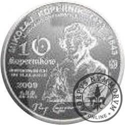 10 koperników / Mikołaj Kopernik (aluminium)