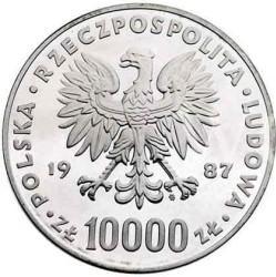 10 000 złotych - Jan Paweł II - st.zw.