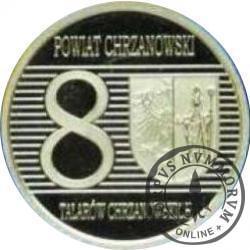 8 talarów chrzanowskich (III emisja* - alpaka)