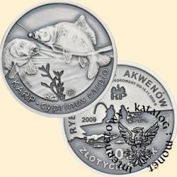 100 złotych rybek (Ag.925 - oksydowane) - IV emisja / KARP