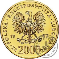 2000 złotych - Jan Paweł II  - st.zw.