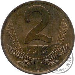 2 złote - znak mennicy