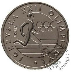 20 złotych - Igrzyska biegacz