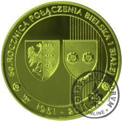 60. rocznica połączenia Bielska i Białej (golden nordic)