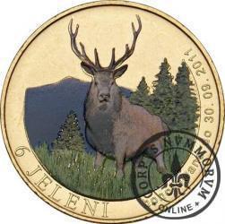 6 jeleni - Jelenia Góra (golden nordic z tampondrukiem)