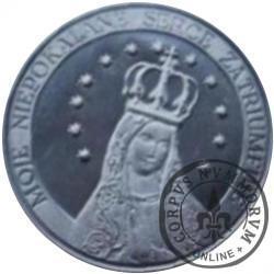 1 ojciec / Błogosławiony Jan Paweł II - Zawierzył Maryi (mosiądz posrebrzany)