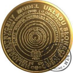 50 koperników / Mikołaj Kopernik (mosiądz)
