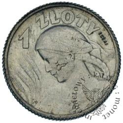 1 złoty (kobieta i kłosy)(1924-1925) PRÓBA