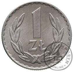 1 złoty - aluminium