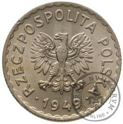 1 złoty - miedzionikiel