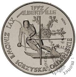 XVI ZIMOWE IGRZYSKA OLIMPIJSKIE ALBERTVILLE 1992