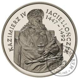 200 000 złotych - Kazimierz IV Jagiellończyk - półpostać