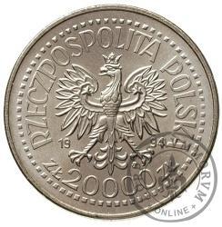 20 000 złotych - gmach Mennicy Państwowej