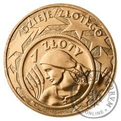 2 złote - Dzieje złotego 1 złoty z 1924 r.
