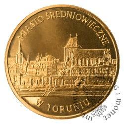 2 złote - Miasto średniowieczne w Toruniu