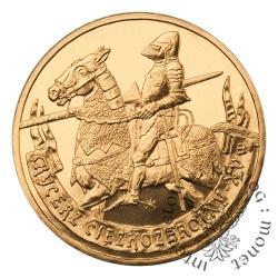2 złote - Rycerz ciężkozbrojny
