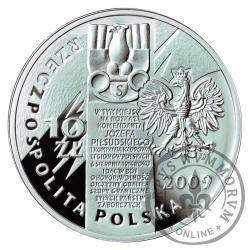 10 złotych - 95. rocznica Pierwszej Kompanii Kadrowej