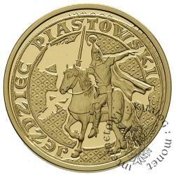 200 złotych - jeździec piastowski