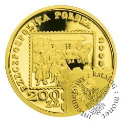 200 złotych - 450 lat Poczty Polskiej