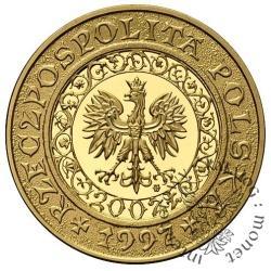 200 złotych - 1000-lecie śmierci św. Wojciecha