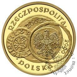 200 złotych - 1000-lecie zjazdu w Gnieźnie