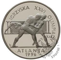 20 złotych - Igrzyska XXVI Olimpiady Atlanta 1996 - zapaśnicy