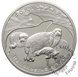 20 złotych - foka szara