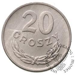20 groszy - aluminium