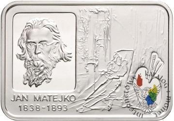 20 złotych - Jan Matejko
