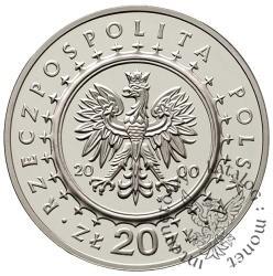 20 złotych - pałac w Wilanowie