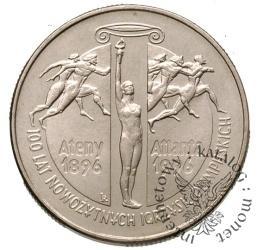 2 złote - 100 lat nowożytnych Igrzysk olimpijskich