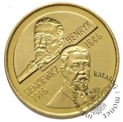 2 złote - Henryk Sienkiewicz