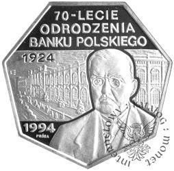 70-LECIE ODRODZENIA BANKU POLSKIEGO