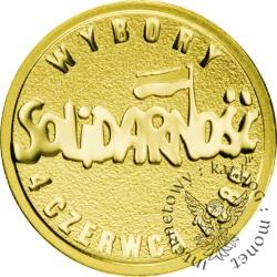 25 złotych - Solidarność - wybory 1989