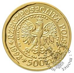 500 złotych - orzeł bielik