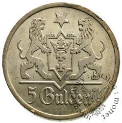 5 guldenów