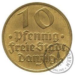 10 fenigów - dorsz