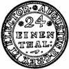 grosz (1/24 talara) - ILH monogram