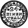 grosz (1/24 talara) - EPH monogram