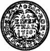 grosz (1/24 talara) - ILH tarcza