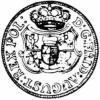dwugrosz (1/12  talara) - bez oznaczeń mincerskich