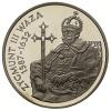 10 złotych - Zygmunt III Waza - półpostać