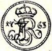 szeląg - mała korona Ag